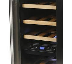 black friday wine fridge buy husky hus cn215 drinks u0026 wine cooler black u0026 silver free
