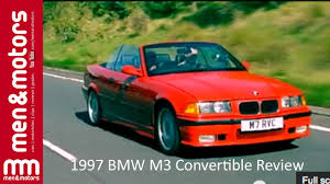 bmw convertible 1997 1997 bmw m3 convertible review