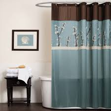 cocoa flower shower curtain walmart