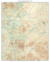 New Mexico Topographic Map by Saranac Lakes 1904 Usgs Old Topographic Map Upper Saranac