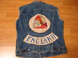 motorcycle jacket store sold on ebay vintage levi u0027s skull motorcycle club denim vest