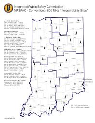 Indiana State Parks Map by Ipsc System Information