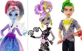 abbey deuce and moanica welcome to monster high dolls 2016 2017