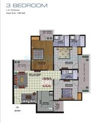 2 bhk 1200 sq ft apartment for sale in amrapali golf homes at rs