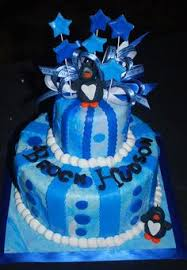 Penguin Baby Shower Decorations Baby Shower Baby Shower Cake Nursery Colors Are Navy Blue