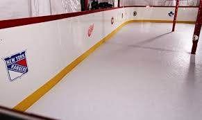 hockey rink boards hs synthetic ice hockeyshot
