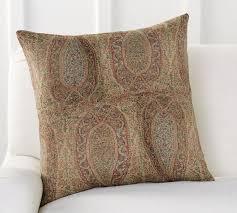 charlene paisley pillow cover pottery barn