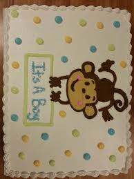 monkey baby shower cake baby shower cakes from baker s nook