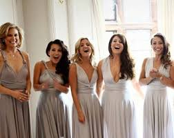 light grey infinity dress bridesmaid dress blush grey burgundy sequins infinity