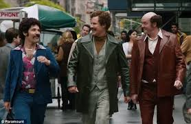 Anchorman 2 Quotes Blind Anchorman 2 Trailers Shows Ron Burgundy Smoking Daily Mail
