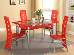 Frosted Glass Dining Room Table Amazon Com Gtu Furniture 5pc Glass Dining Room Kitchen Table