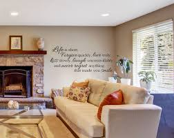 living room wall decals life is short wall decals by amanda u0027s
