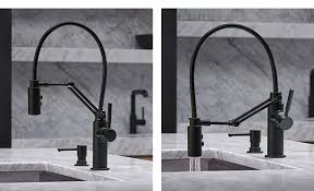 brizo solna kitchen faucet articulating kitchen faucet innovations for the kitchen brizo