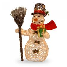 impressive design outdoor snowman decorations decor 1000