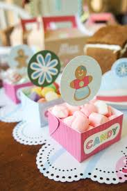 house party ideas friday feature gingerbread house party bloom designs