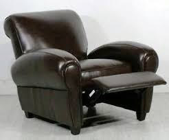 leather club chair ebay