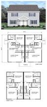 4 Unit Apartment Building Plans 26 Best Duplex U0026 Multiplex Plans Images On Pinterest Apartment