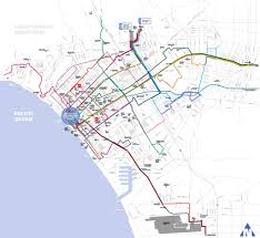 Map Of Santa Monica Big Blue Bus Maplets