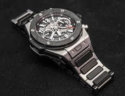 bracelet hublot images Hublot big bang unico watch with bracelet hands on ablogtowatch jpg