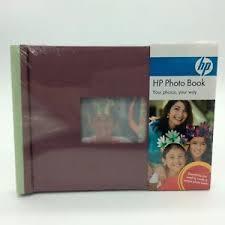 5x7 brag book hp photo book album plum brag book windows photo paper glossy 5 x
