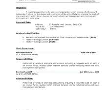banking resume format sle investment banking resume investment banking resume format