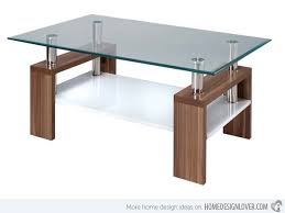Rectangular Coffee Table With Glass Top Brilliant Design For Glass Top Coffee Table Ideas 15 Stylish