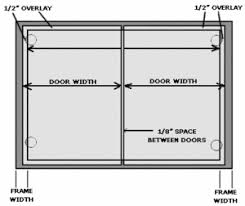 Measuring Cabinet Doors How To Measure Your Cabinet Door Overlay Rok Hardware