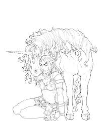 coloring pages of unicorns and fairies unicorn and fairy coloring pages icolor horses more at carousel