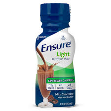ensure original nutrition shake powder with 9 grams of protein