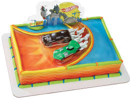 hot wheels cake toppers hot wheels ride cake gerrity s party planning