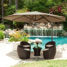 swimming pool table set with umbrella outdoor rattan coffee table with extra large umbrella stand for