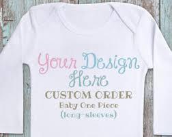 customized baby custom baby shirts etsy