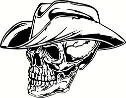 hat skull tattoos