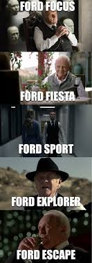 Ford Focus Meme - the many faces of ford