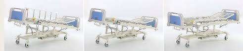 rotating hospital bed four function hospital hydraulic bed