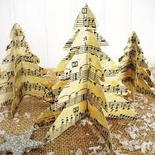 Sheet Music Christmas Tree Ornament by 530 Best Sheet Music Crafts Images On Pinterest Sheet Music