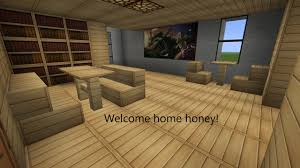 minecraft home interior paradise house with interior minecraft project