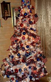 Red White Blue Christmas Decorations by Red White And Blue Christmas Tree Unac Co