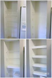 Building Wood Shelves In Pantry by Best 25 Shelves In Closet Diy Ideas On Pinterest Closet