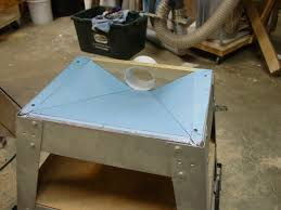 table saw vacuum dust collector improvement on my ts craftsman 315 228390 woodworking talk