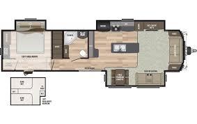 Keystone Rv Floor Plans 2018 Keystone Rv Residence 40loft Park Trailer Point North Rv