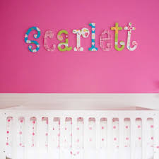 Letter Wall Decals For Nursery Nursery Wall Letters Hanging Letters Rosenberry Rooms