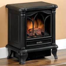 Electric Fireplace Stove Duraflame 450 Black Freestanding Electric Fireplace Stove Dfs 450 2