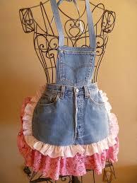 best 25 jean apron ideas on pinterest denim aprons blue jean