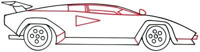 4 add windows how to draw a lamborghini howstuffworks