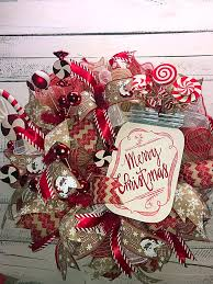christmas wreath christmas wreath for front door holiday wreath christmas home decor xmas candy jar xmas candy jar 1