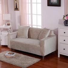 housse protection canapé colorée housse de sofa élastique revêtement protection canapé