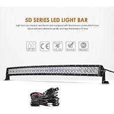 amazon com led light bar eyourlife 42