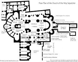 Catholic Church Floor Plans This Is The Floor Plan Of The Church Of The Holy Sepulchre It Is