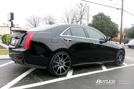 wheels for cadillac ats cadillac ats with 19in savini bm12 wheels exclusively from butler